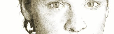 Benabar portrait au crayon