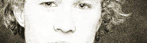 Heath Ledger portrait crayon numérique