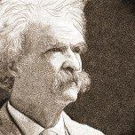 portrait de Mark Twain