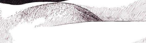 mont de vénus - dessin numérique à l'encre