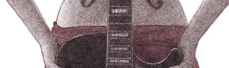 dessin numérique au crayon - d'après une photo de Carsie Blanton
