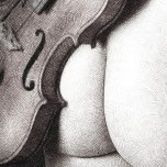 Second violon (ref photo (c) myweirdness sur deviantart.com)
