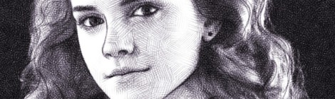 hermione granger / emma watson / digital pencil drawing