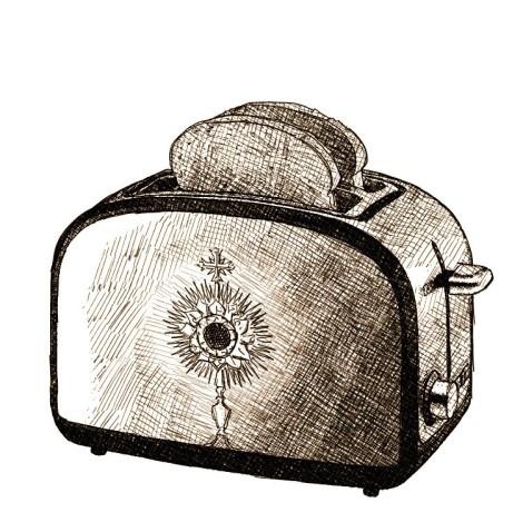 Un ostensoir qui fait grille-pain